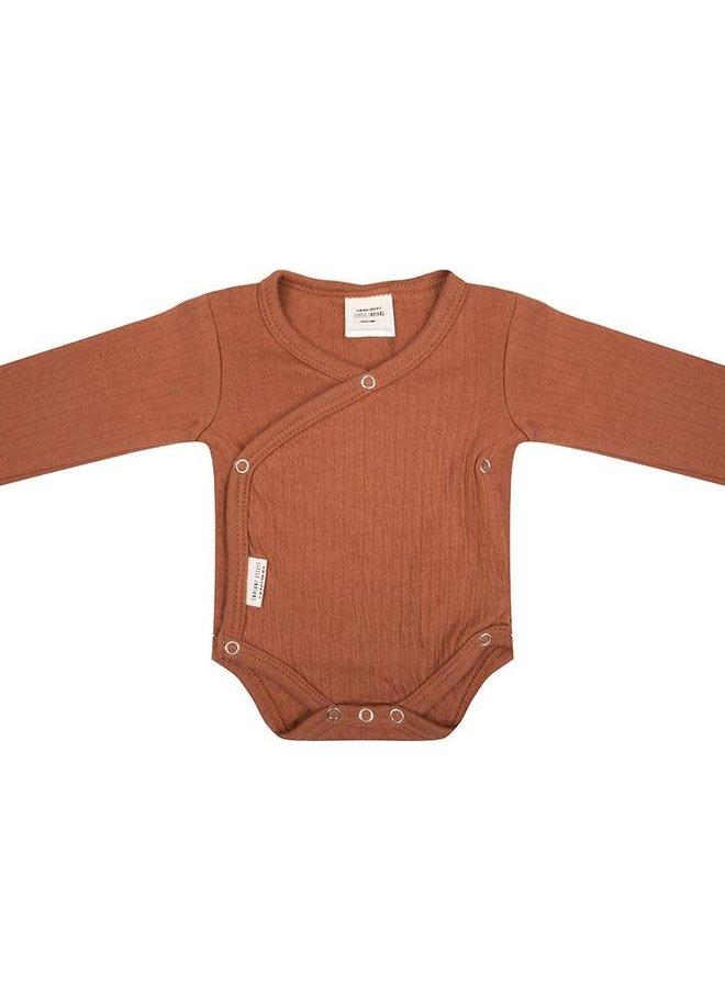 Little Indians - Longsleeve body Amber brown