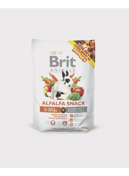 Brit ACTIE, BRIT Alfalfa snack, voor konijnen en knaagdieren