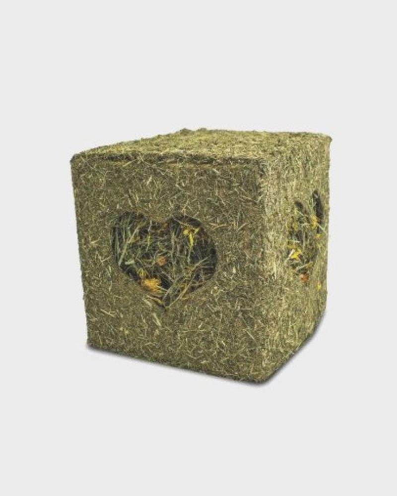 JR FARM Jr-Farm Cube de foin avec fleurs