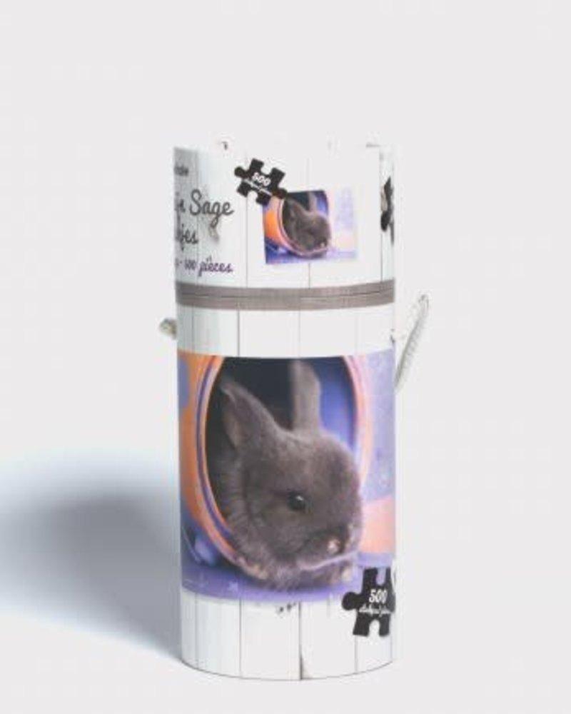 LAATSTE STUK! Puzzel tube konijn