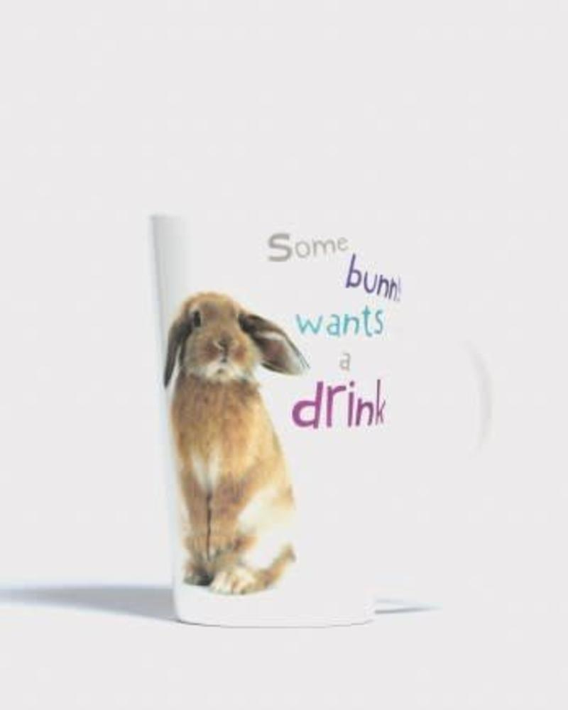 Grote drinktas ' Some bunny want a drink'