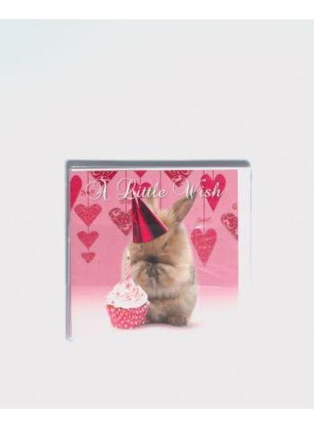 Carte d'anniversaire A little wish