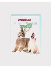 Verjaardagskaart, verjaardag konijn + pup