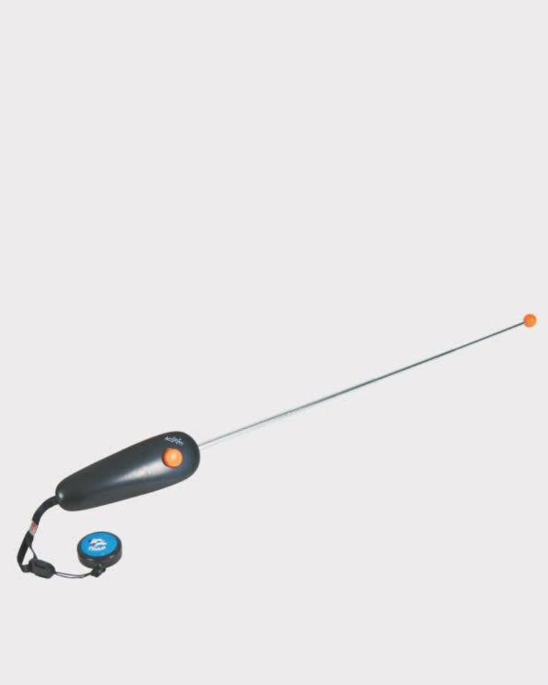 Target stick met clicker
