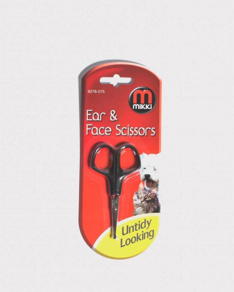 Mikki oor -en neusschaar