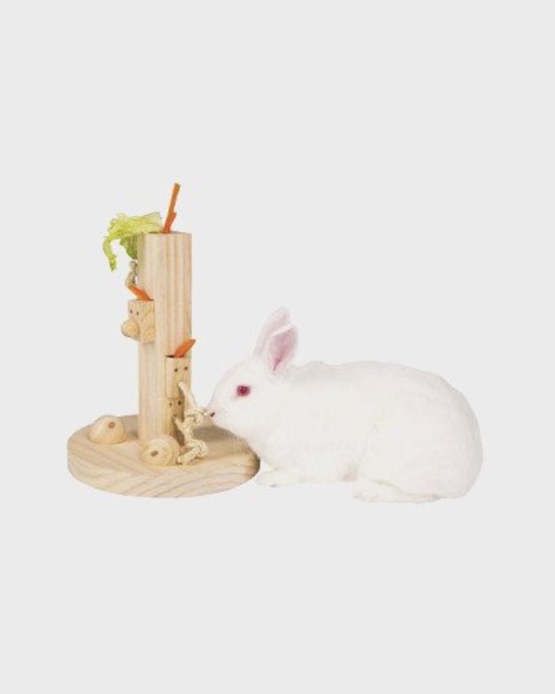 Jeu de réflexion Feedtree pour lapin et rongeur