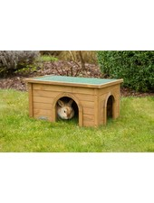 Cabin for rabbits and rodents