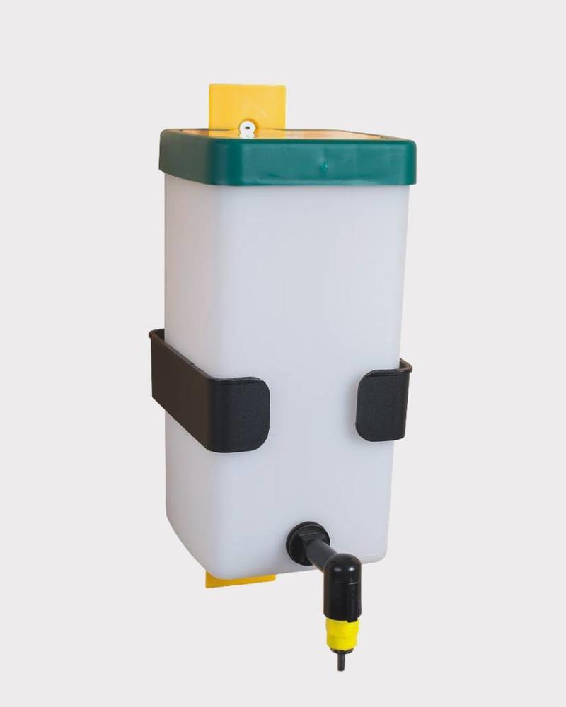 Holder for nipple drinking bottle for internal mounting
