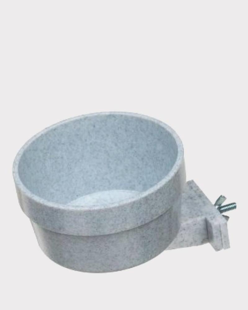 Savic Crock Eat or drink bowl grey