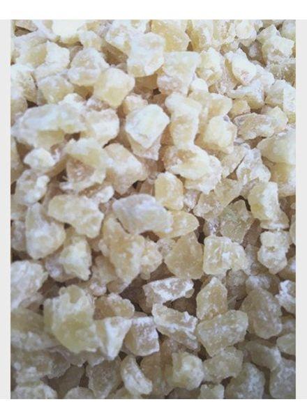 Ananas blokjes: gr. gewicht