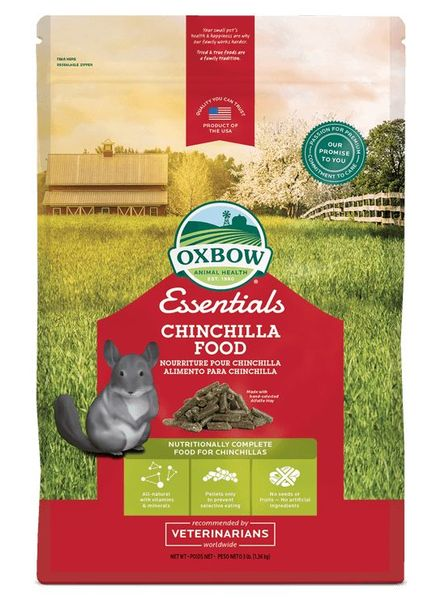 Oxbow Oxbow Essentials Chinchilla voeding