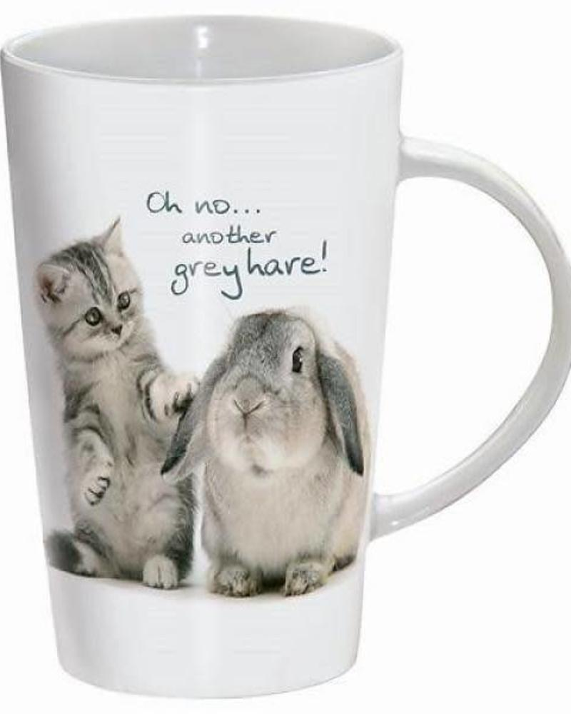 Tasse de boisson ,Oh no... another grey hare