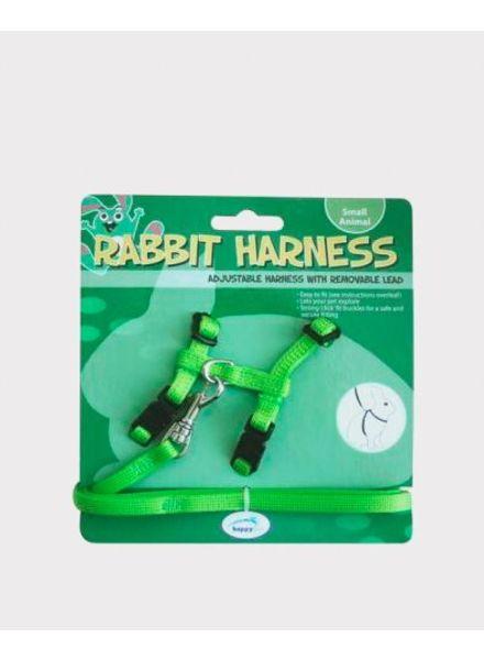 Harnas+looplijn groen