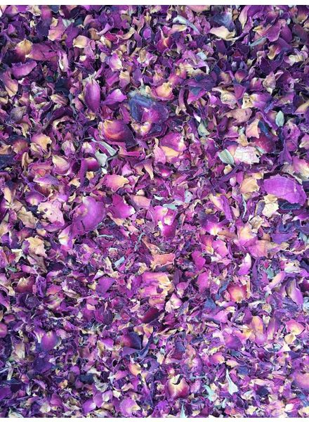 Rozenbloembladeren: gr. gewicht