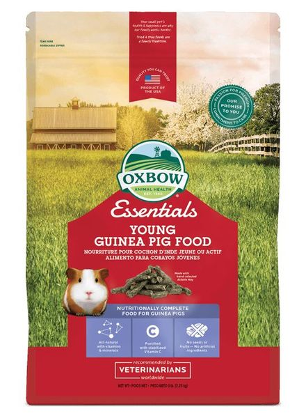 ACTIE Oxbow, Essentials Cavia voeding, Young adult 4.5 kg