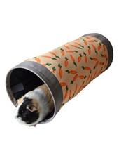 Speeltunnel met worteltjes motief, 50 cm