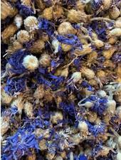 Korenbloem blauw: gr. gewicht