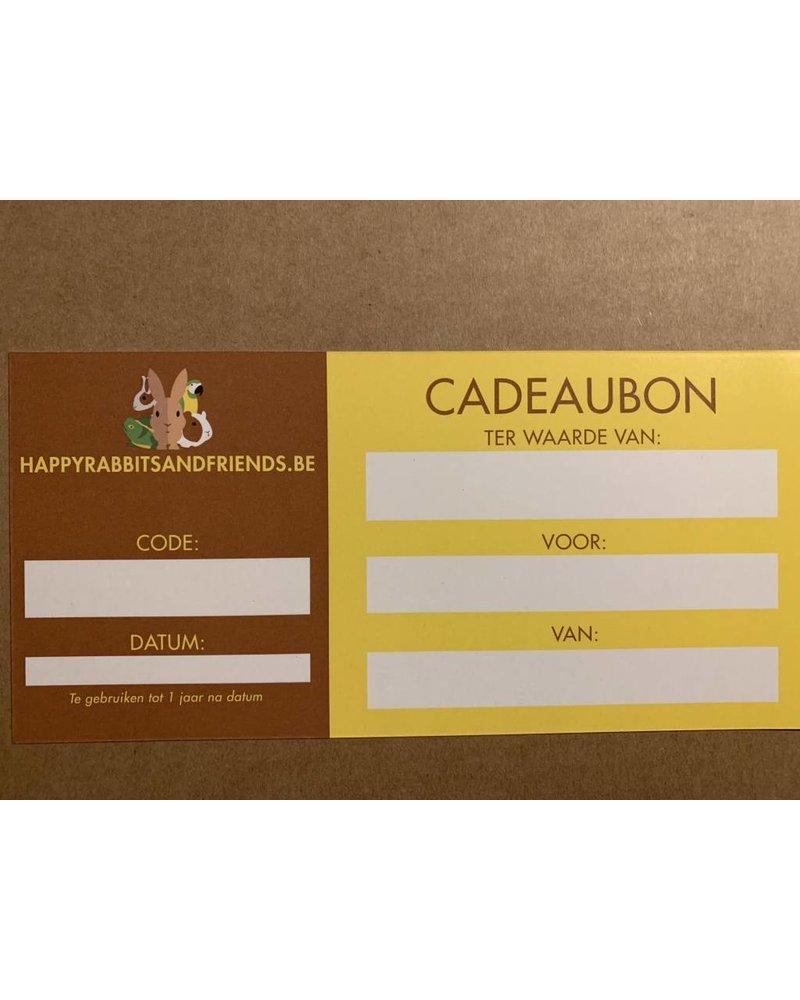 Happy Rabbits and Friends Cadeaubon