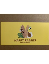 Happy Rabbits and Friends Cadeaubon