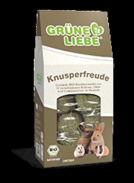 Grüne Liebe, BIO-Snack, Knaagvreugde