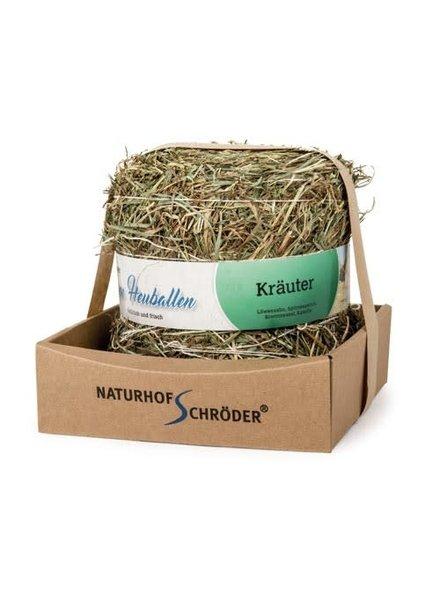 Naturhof Schröder Natur Liebe, Weidehooibaal met kruiden, 500 gr.