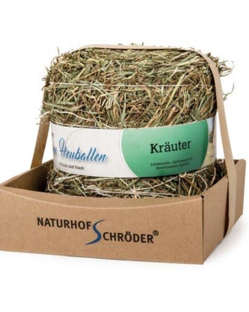Naturhof Schröder Natur Liebe, Weidehooibal met kruiden, 500 gr.