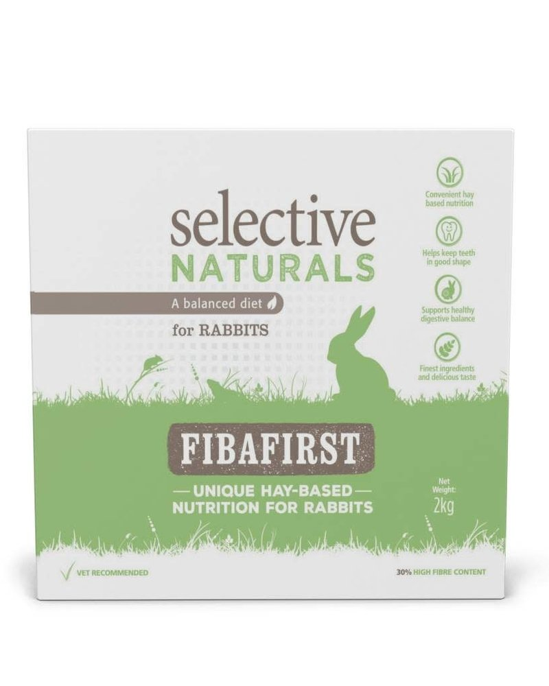 Science Selective Selective Naturals Fibafirst aliment pour lapins