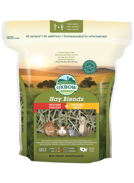 Oxbow Oxbow hay blend: Western Timothy en Orchard Grass