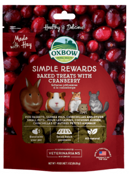 Oxbow Oxbow,Baked treats met cranberry