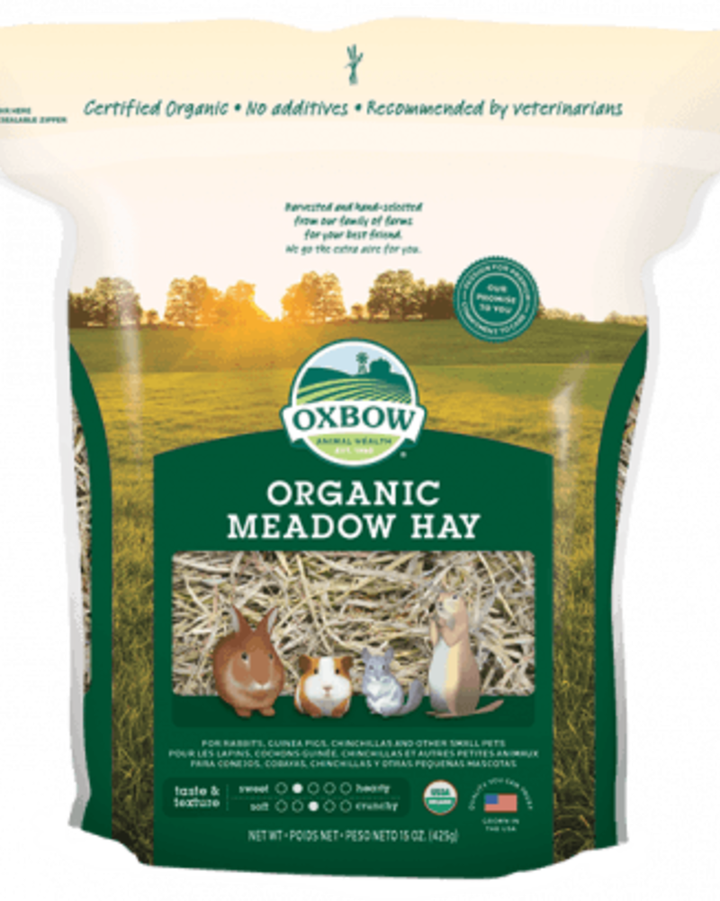 Oxbow Oxbow, Organic Meadow Hay 1.1 kg