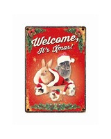 Welkom Kerstmis! Konijn,Cavia