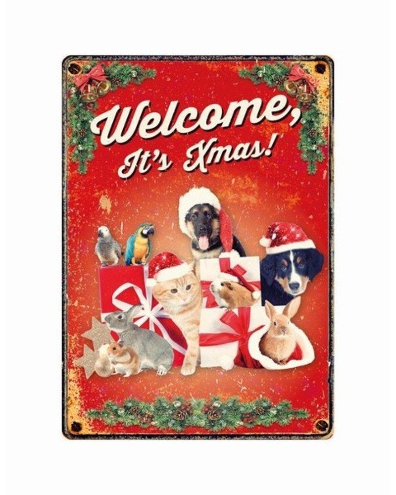 Welkom Kerstmis! Dieren