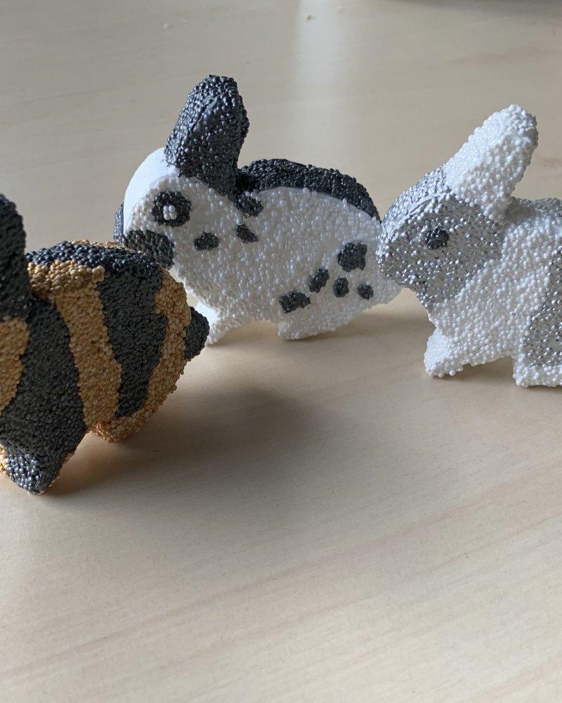 Creatief met isomo, konijnenthema