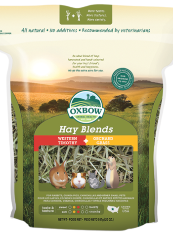 Actie, Oxbow Hooi mix: Timothy en Orchard grass 1.13kg
