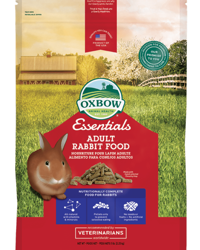 Oxbow Adult Rabbit Oxbow - Alimentation lapin adulte