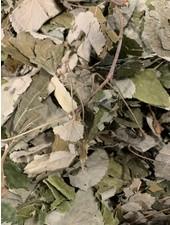 Lindebladeren: gr. gewicht