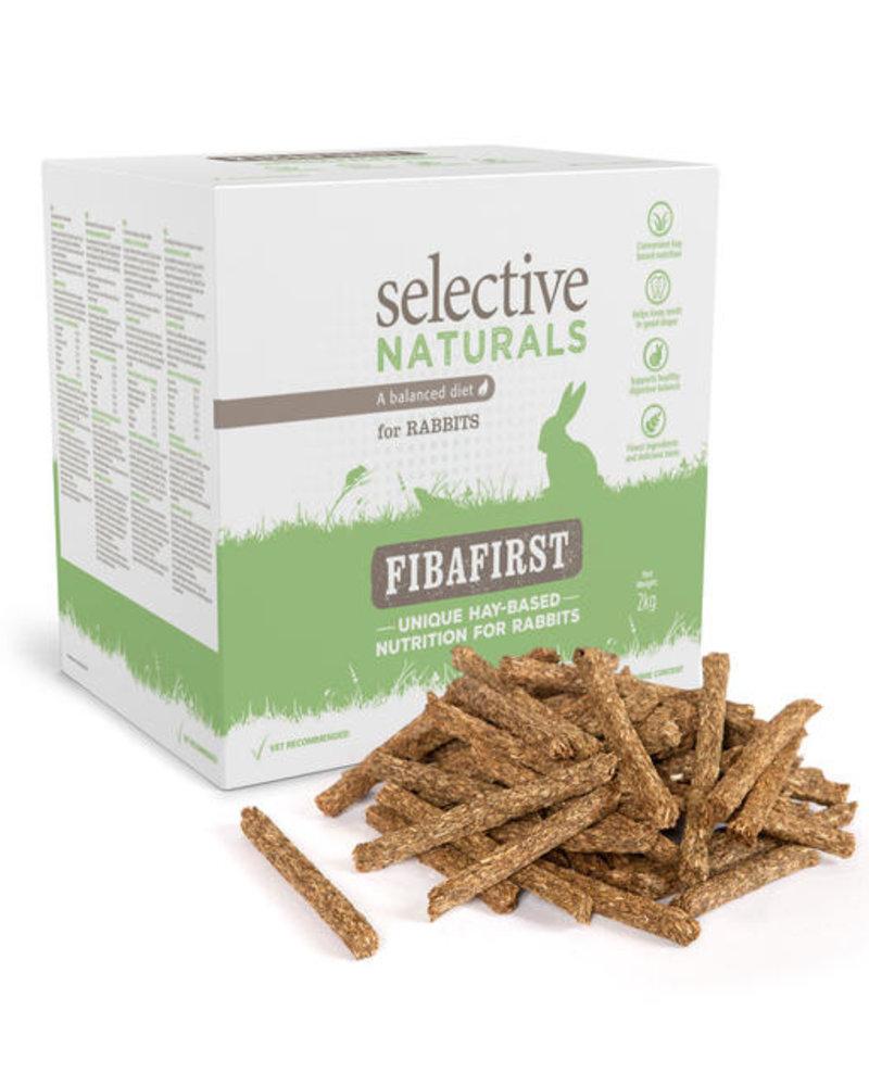 Science Selective Selective Naturals Fibafirst food for rabbits
