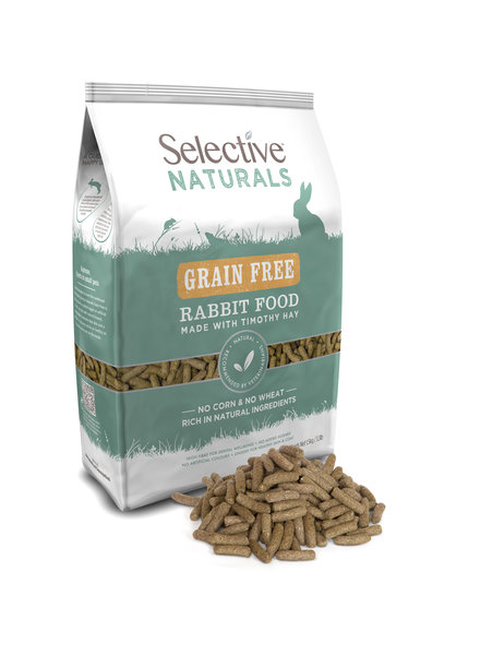 Science Selective Naturals Nourriture pour lapin sans céréales