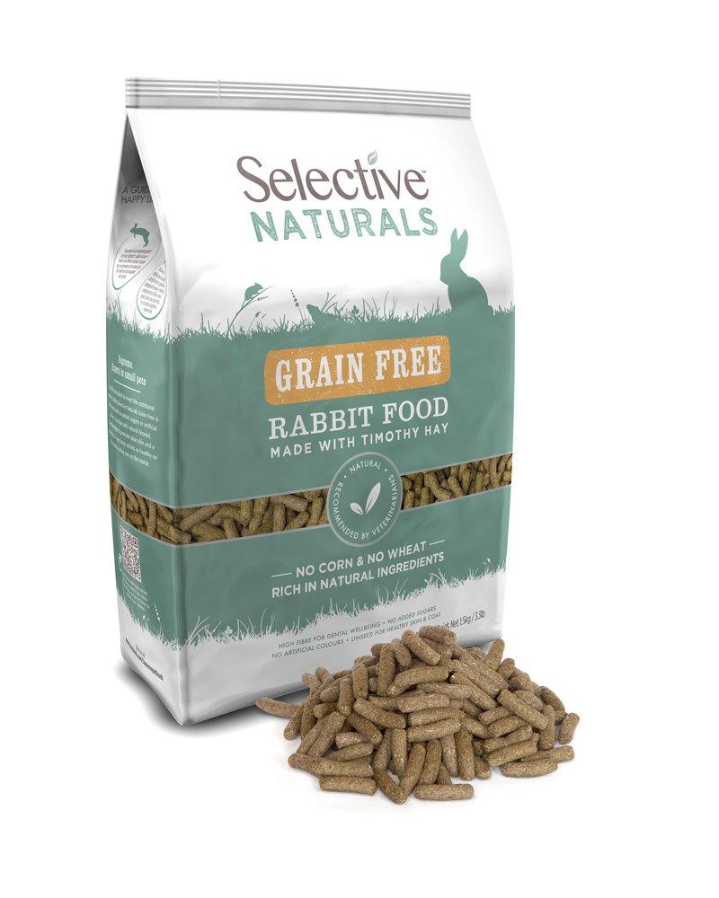 Science Selective Selective Naturals Nourriture pour lapin sans céréales