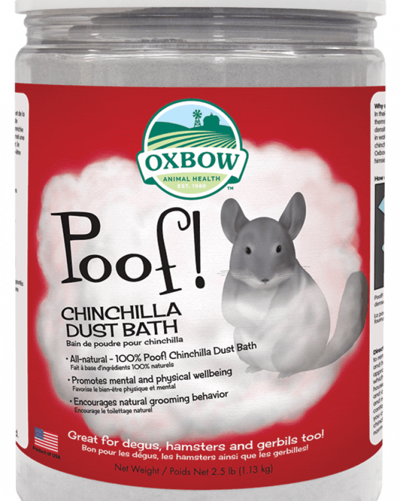 Oxbow Oxbow Chinchilla Poof!
