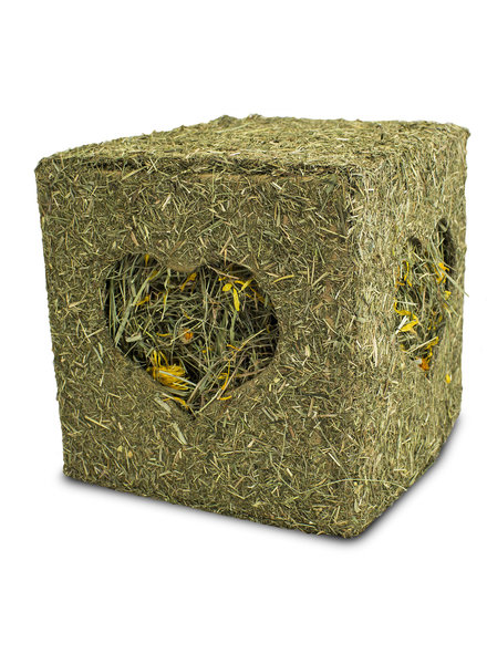 JR-FARM Hay cube with flowers