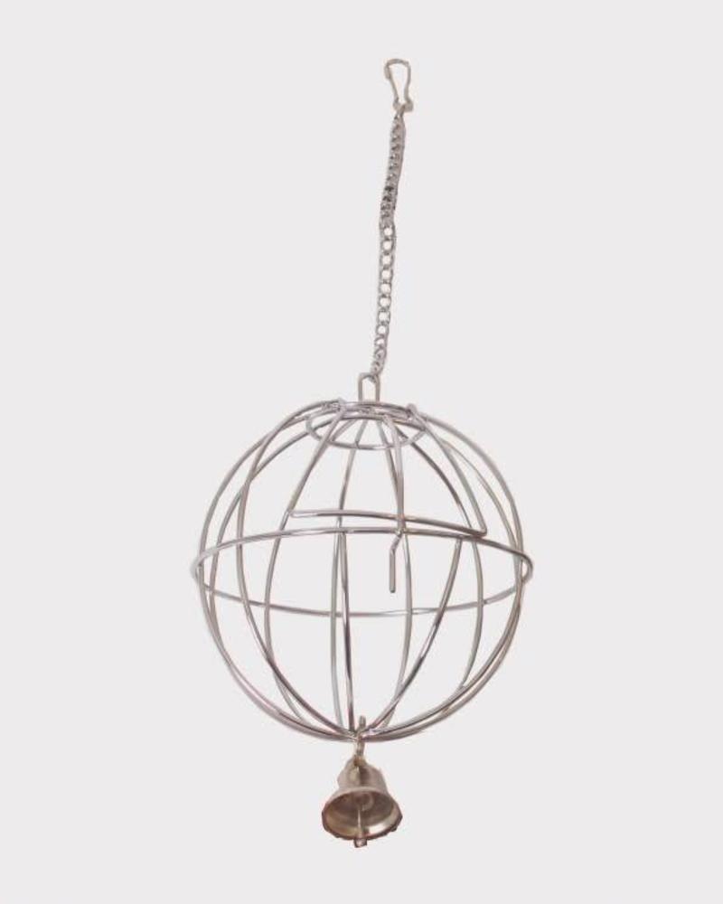 Metalen hooibal. 7,5 cm