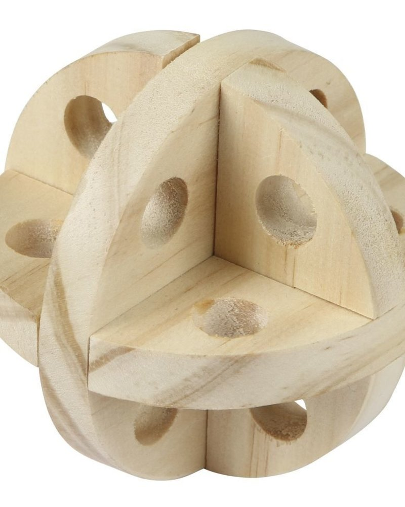 Houten snackbal