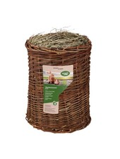 Naturhof Schröder Willow tunnel with hay