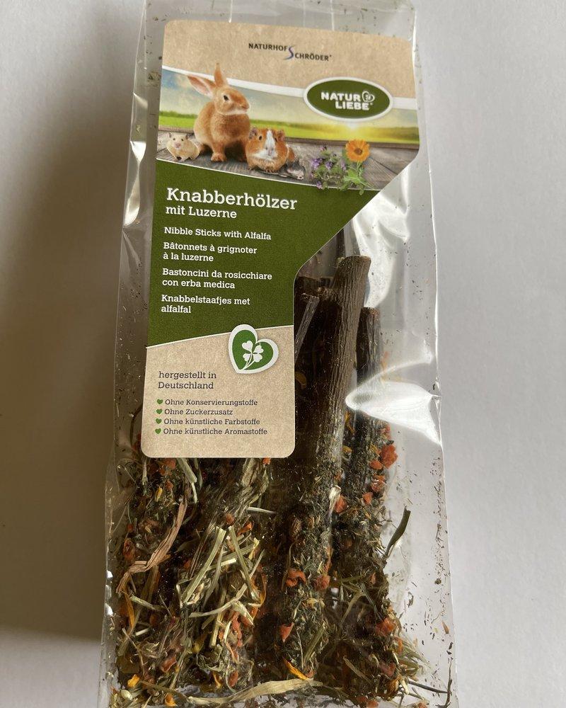 Naturhof Schröder Natur Liebe Nibble Sticks with Alfalfa