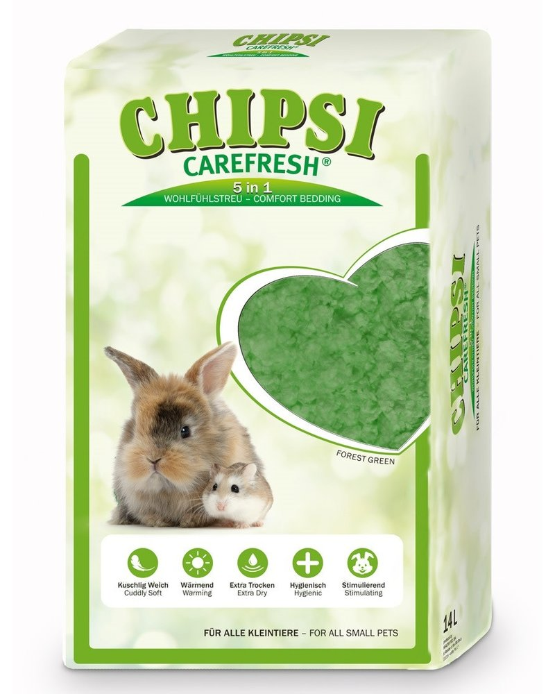 Chipsi Carefresh Forest Green 14 L