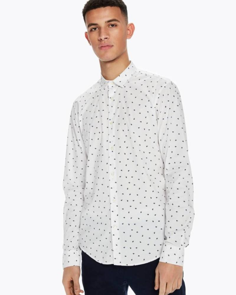 SCOTCH & SODA 142481 - Longsleeve shirt with all-over print - Combo A - 217