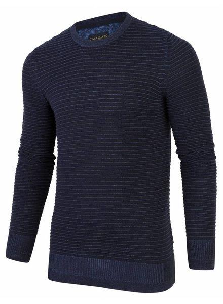 CAVALLARO Tonio Pullover - Dark Blue - 63622