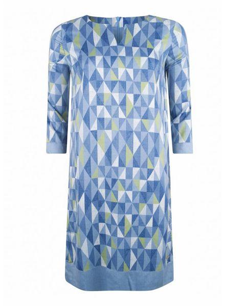 CAVALLARO Grafica Dress - Medium Blue - 62513