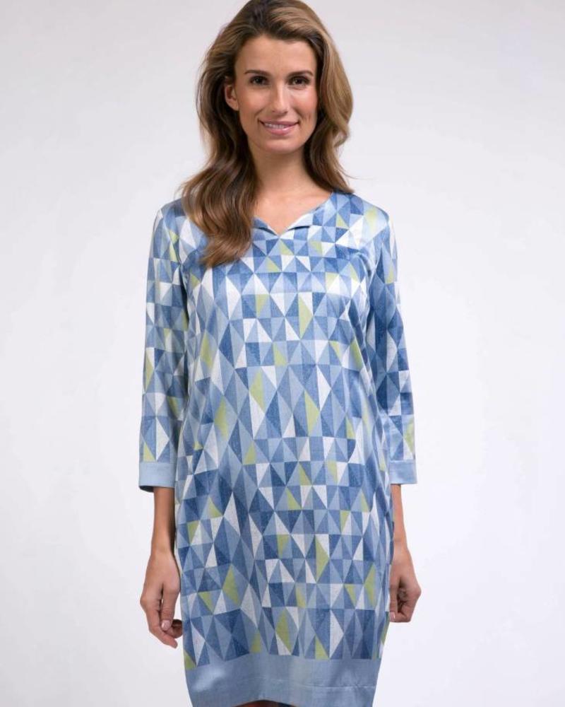 CAVALLARO DAMES Grafica Dress - Medium Blue - 62513